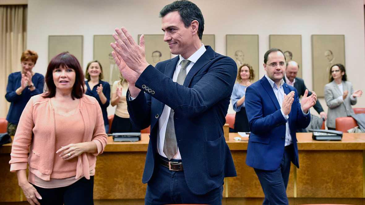 """Pedro Sánchez: """"Ayer España respiró aliviada y se generó una corriente de esperanza e ilusión"""""""