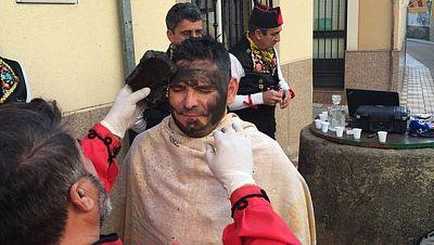 Montehermoso celebra la fiesta de los negritos