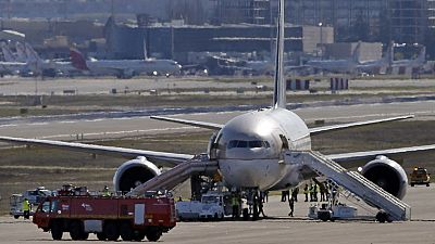 Un avión de Saudí Arabian Airlines ha sido evacuado esta mañana en Barajas por amenaza de bomba