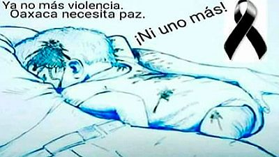 """Comoción en México por el asesinato de un matrimonio y su bebé, al que llaman """"el Aylan mexicano"""""""