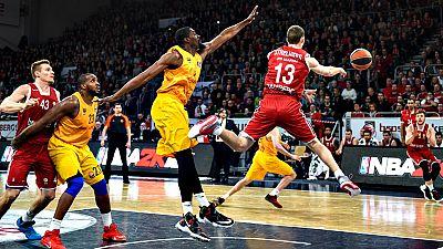 El FC Barcelona Lassa ha perdido este jueves en la casi invicta pista del Brose Baskets Bamberg (74-70) en la sexta jornada del 'Top 16' de la Euroliga en un partido en el que no pudieron retener la iniciativa inicial y donde la irregularidad en su j