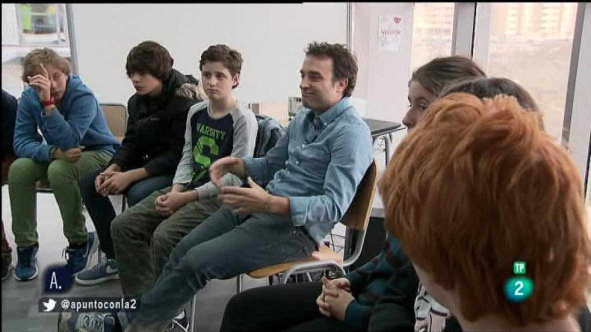 A punto con La 2 - Proyectos solidarios - Daniel Guzmán director de 'A cambio de nada'