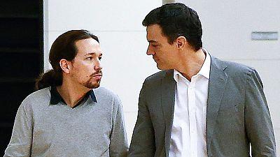 Pedro S�nchez: 'mantengo la puerta abierta a Podemos'