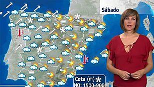 Intensas lluvias en Galicia y viento fuerte en el Cantábrico este sábado