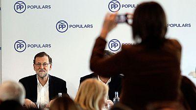 Rajoy exige a S�nchez que no dilate la situaci�n de interinidad del pa�s