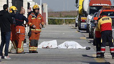 Mueren dos personas en una explosión en Valencia