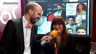 """Goyas Golfos 2016 - Isabel Coixet: """"El spot de los Goya me pareci� una mierda"""""""
