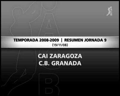 CAI Zaragoza 80-65 CB Granada