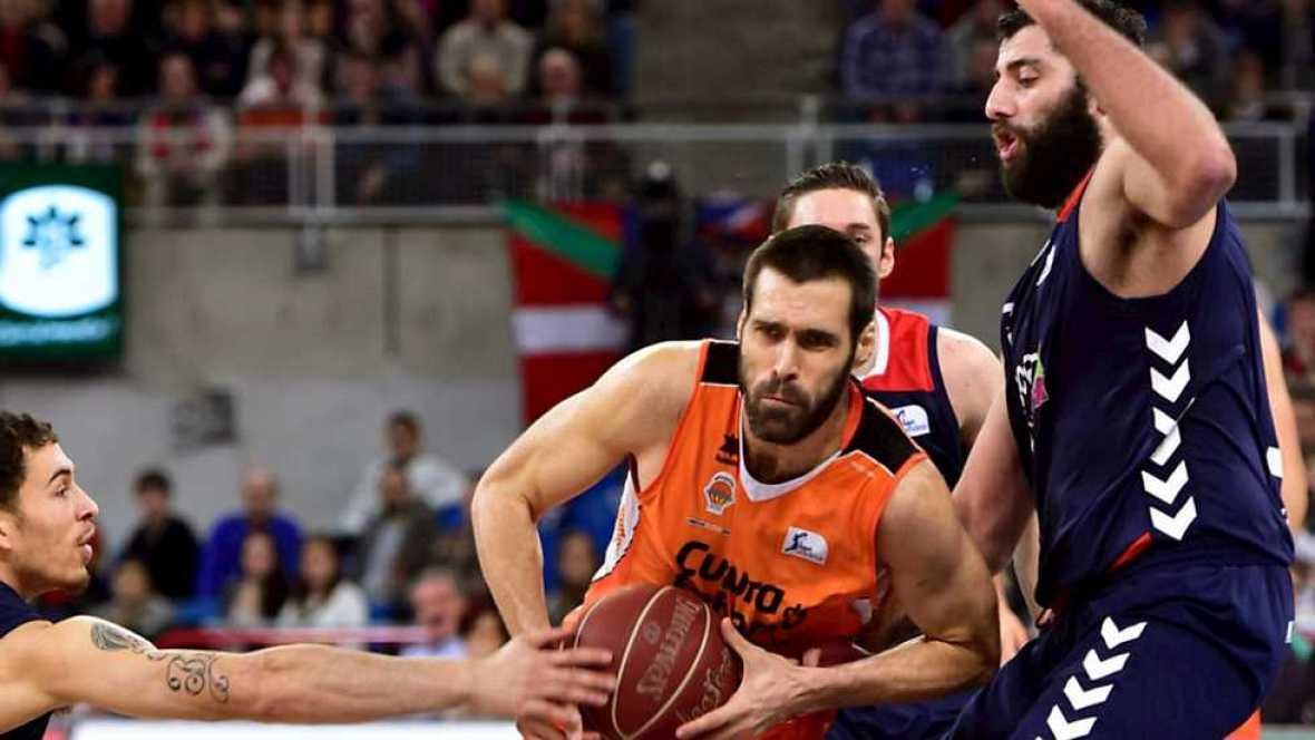 Baloncesto - Liga ACB.  19ª jornada: Laboral Kutxa-Valencia Basket - ver ahora