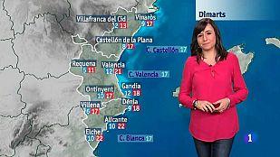 El tiempo en la Comunidad Valenciana - 08/02/16