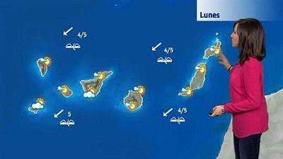 El tiempo en Canarias - 08/02/2016