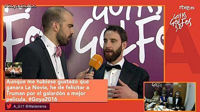 Llega lo m�s emocionante de la ceremonia, con el fallo de los principales premios y las entrevistas m�s irreverentes de Agust�n Alonson desde el backstage.