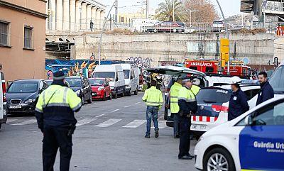 Suprimida la circulación de trenes de cercanías en el núcleo de Barcelona por humo en los túneles