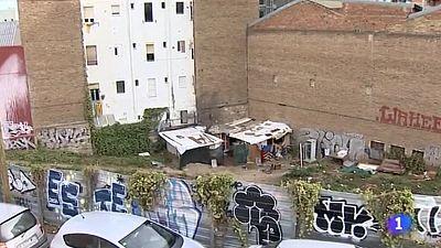 Assentaments barraques Barcelona 09/02/2015