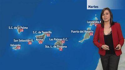 El tiempo en Canarias - 09/02/2016