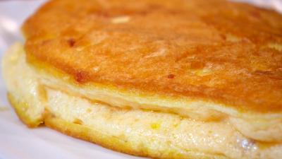 Receta de tortilla sufl� con jam�n