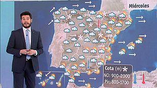 Fuertes rachas de viento en el norte, en el Mediterráneo y en el mar de Alborán