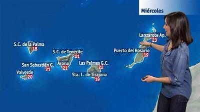 El tiempo en Canarias - 10/02/2016