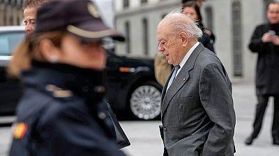 Pujol reitera en la Audiencia Nacional que su fortuna en Andorra procede de la herencia de su padre