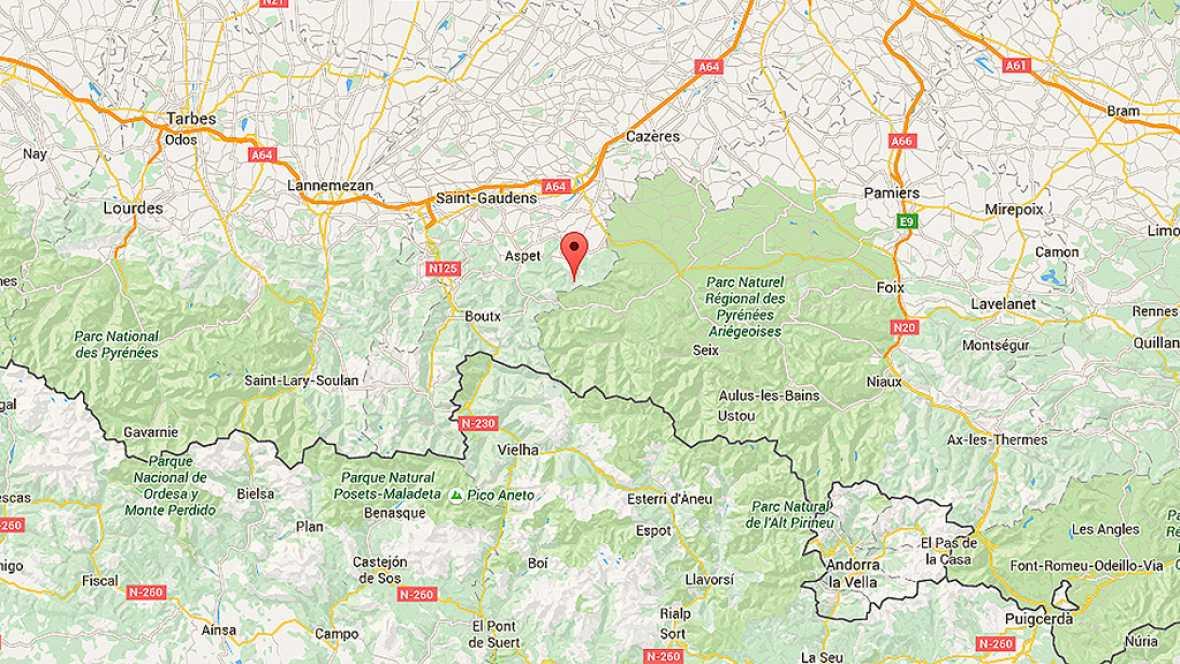 Rescatados los espeleólogos españoles atrapados en una sima en el pirineo francés