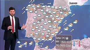 Viento fuerte y lluvias persistentes en Galicia