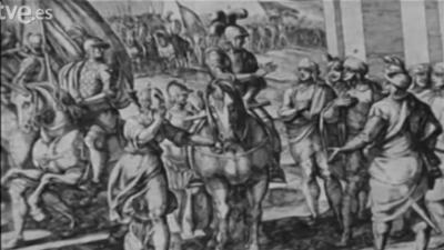 Biograf�a - Cervantes en la Biblioteca Nacional