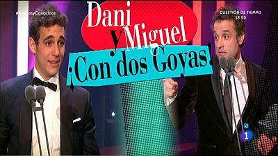Dani Guzm�n y Miguel Herr�n en La 1