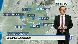 El tiempo en Extremadura - 11/02/16