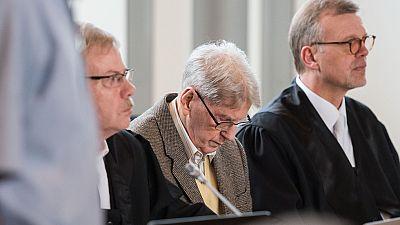 Reinhold Hanning de 94 a�os, ex SS y guardi�n en Auschwitz, juzgado por colaboraci�n en el Holocausto