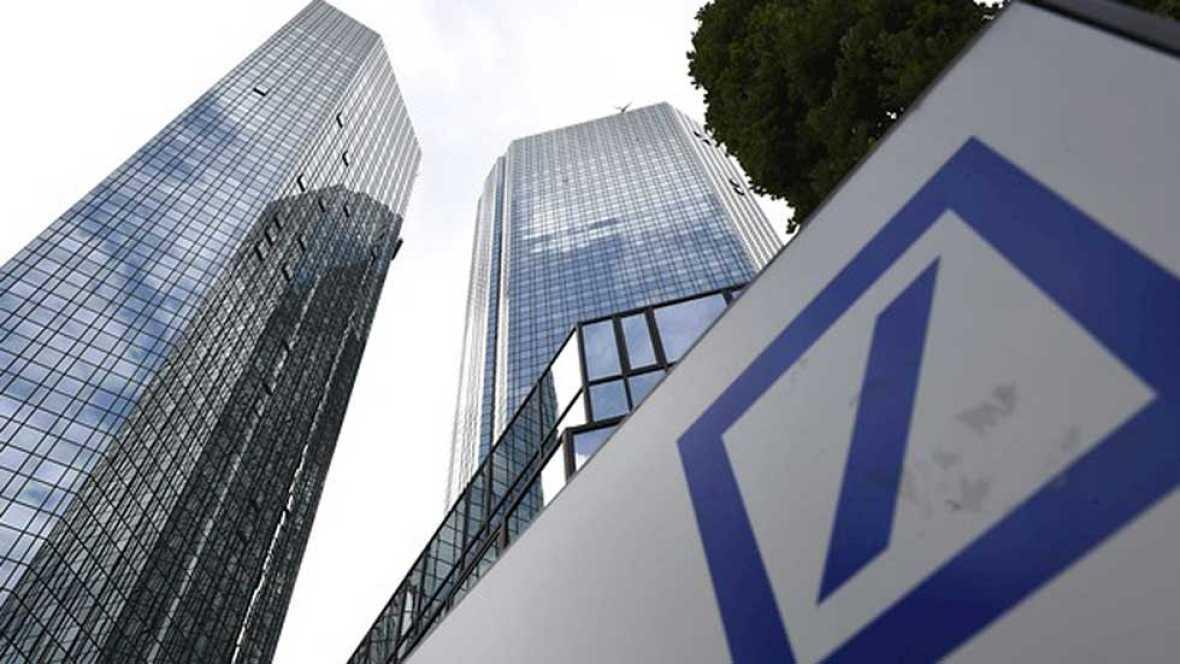 Deutsche Bank pierde casi la mitad de su capitalización bursátil en lo que va de año