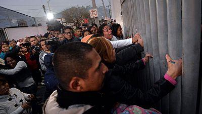 Cerca de sesenta muertos en el intento de fuga en una c�rcel de Monterrey