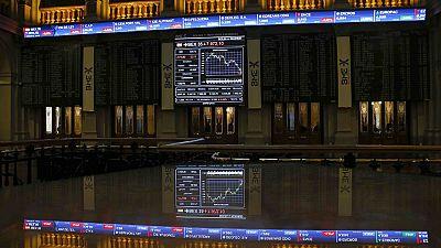 El hundimiento de la banca arrastra a las principales Bolsas europeas