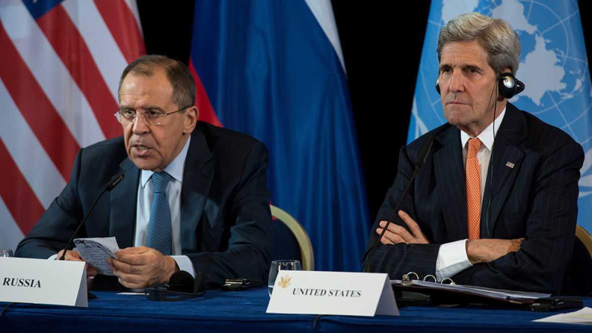 Acuerdo internacional para una tregua en Siria en una semana