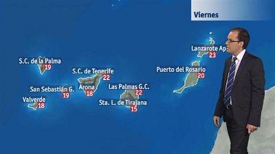 El tiempo en Canarias - 12/02/2016
