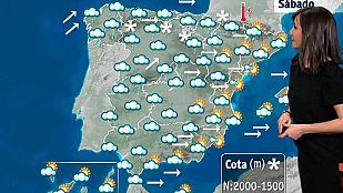 Lluvia fuerte en Galicia y vientos en el norte de la península