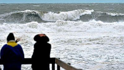 Temporal: 27 provincias del litoral en alerta naranja