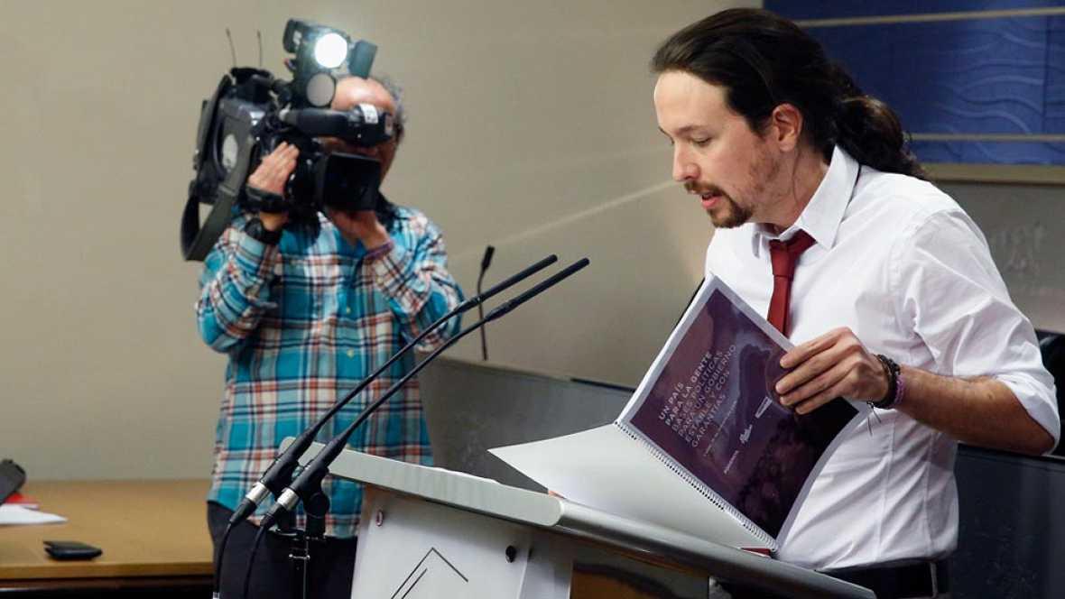 Iglesias reclama la vicepresidencia, con el control del CNI y la secretaría contra la corrupción