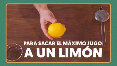 Trucos de cocina: Saca partido al limón