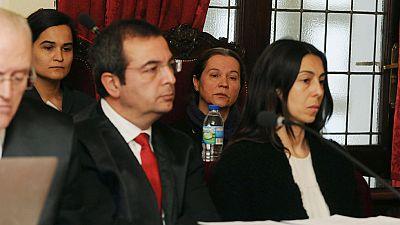 El fiscal rebaja a 22 años la petición de penas en el juicio del asesinato de Isabel Carrasco