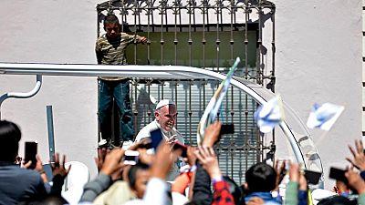 El papa Francisco reivindica los derechos de los indígenas mexicanos durante su visita a Chiapas