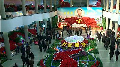 Corea del Norte celebra el 74º aniversario del nacimiento de Kim Jong-il