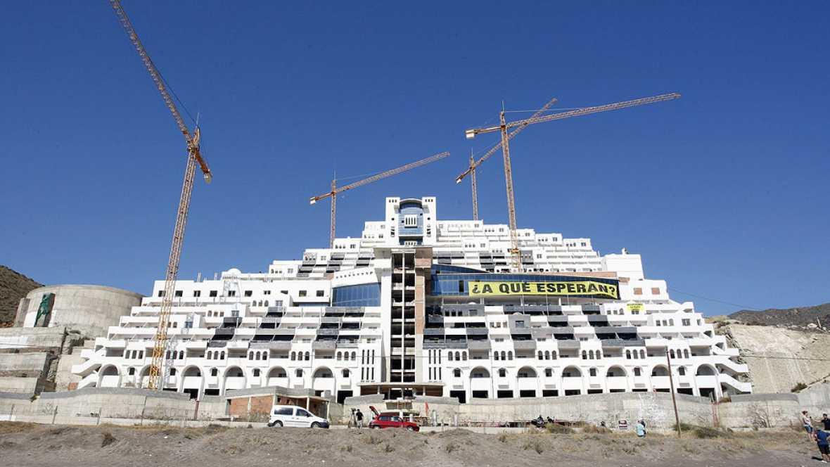 El Tribunal Supremo declara que el hotel Algarrobico se construyó sobre suelo no urbanizable