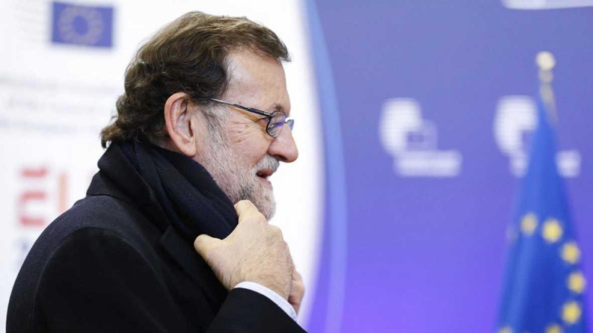 Rajoy en el Consejo Europeo