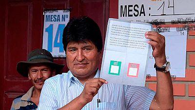 Bolivia rechaza la reforma constitucional para reelegir a Morales en 2019, según los sondeos