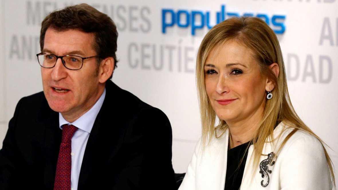 Dirigentes populares muestran su rechazo a los casos de corrupción que afectan al PP tras la detención de Grau