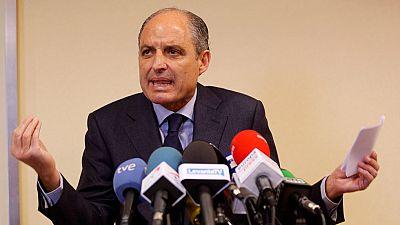 """Camps niega ser """"el recaudador"""" del PP valenciano y afirma que está """"harto"""" de las """"mentiras"""" sobre él"""