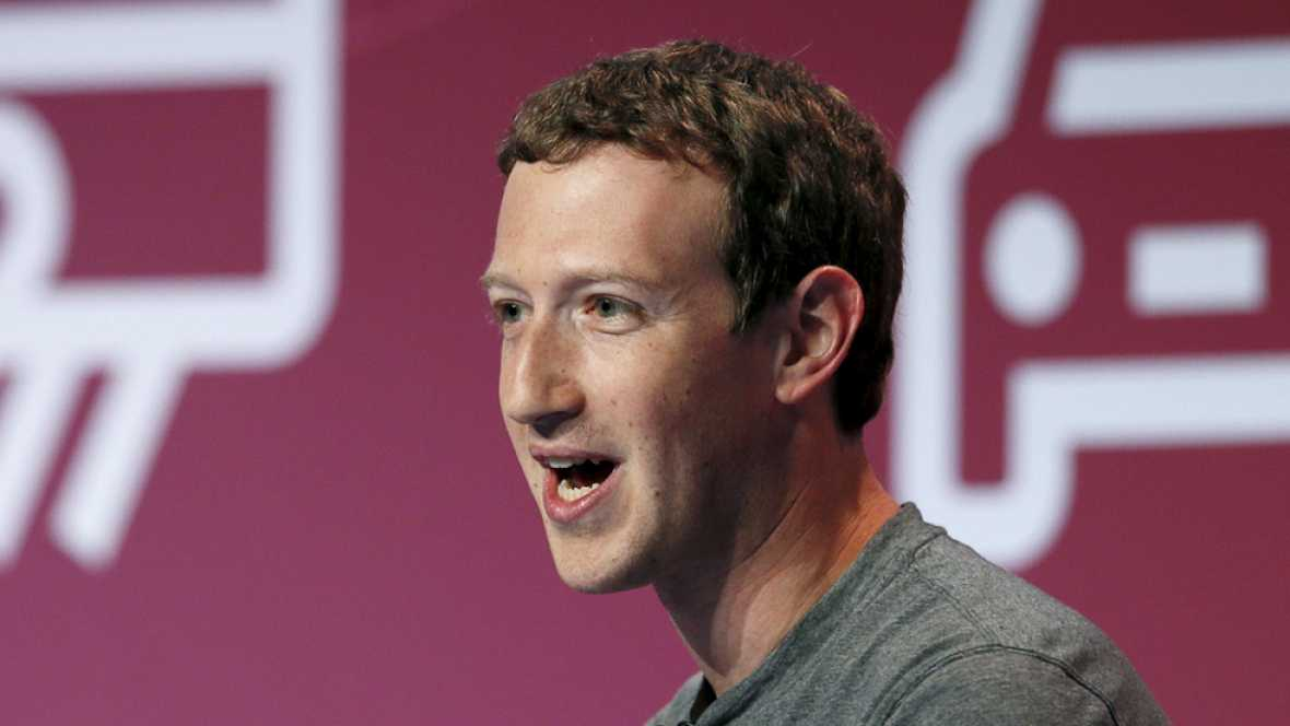 Mark Zuckerberg genera mucha expectaci�n entre los asistentes al Mobile World Congress