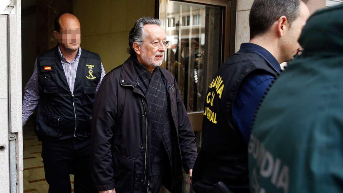 Alfonso Grau queda en libertad con cargos tras ser detenido por un presunto delito de cohecho