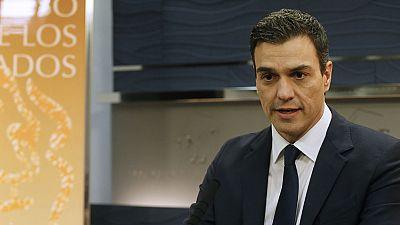 """Pedro Sánchez: """"Si esas son las peticiones que tiene Ciudadanos, que no le quepa duda a los españoles que habrá acuerdo"""""""