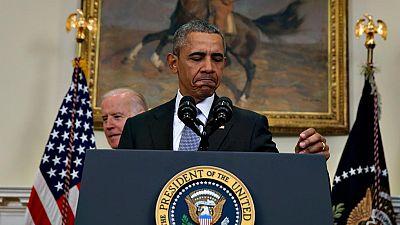 El presidente de EE.UU., Barack Obama, presenta su propuesta para que el Congreso autorice el cierre de la cárcel de Guantánamo